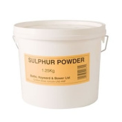 Battles Sulphur Powder - Effective aid in helping to avoid mud fever in horses. Ideal for use with Pig Oil.