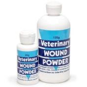 Battles Veterinary Wound Powder - Antibacterial powder for use on minor wounds, cuts, bites and scratches.