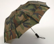 Gustbuster Metro Camouflage folding storm vented umbrella Great for Fishing, Hunting etc