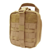 Condor Military Combat Rip-Away EMT First Aid Kit Pouch Airsoft MOLLE Coyote Tan