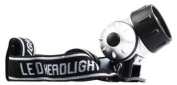 Bright White 7 LED Headlight / Headtorch / Headlamp With Adjustable Head Strap ~ Water Resistant