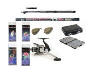 Carbon Telescopic Mackerel/Predatory Fish Fishing Starter/Travel Set