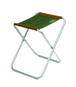 Shakespeare Folding Stool - Brown/Green, 90 Kg