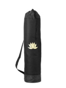 Lotus Yoga Mat Bag - Perfect For Standard to Extra Thick Yoga Mats