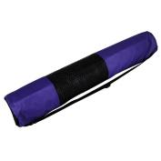 YogaDirect Large Nylon Zippered Yoga Mat Bag