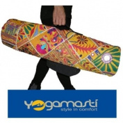Toran Handmade Yoga Mat Bag-beautiful with functional pockets, inside zipper pocket-water resistant lining