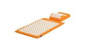 Acupressure Mat & Head Cushion Set - Orange