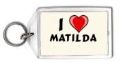 I love Matilda Keychain