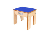Little Helper Fstl01-4 Wooden Child Chair/ Stool with Funstool and Natural Edging