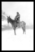Buyenlarge 19684-xP2030 Native American in Snow 20x30 poster