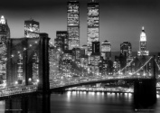 GB eye Ltd, 3d Lenticular Poster, New York, Skyline B & W,