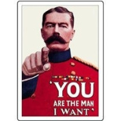You are the Man I Want Robert Opie Fridge Magnet -