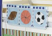 Bed Tidy, Pocket / Organiser for Cabin Beds/Bunks in SPORTS DESIGN