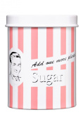 Premier Housewares Candy Stripe Sugar Canister, Pink
