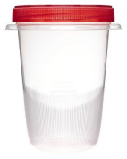 Rubbermaid TakeAlongs 4-Cup Twist and Seal Containers, 2-Count