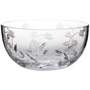 """Bowl, mixing bowl, tray for apetizers, Collection """"MAITRAUM"""", lead crystal, transparent, 23 cm"""