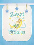 Dimensions Stamped Cross-Stitch Quilt Kit, Sweet Dreams, 90cm x 110cm
