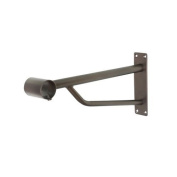 New Caraselle Heavy Duty Bracket for our Heavy Duty Wall Mounted Garment Rails with a Iridescent Bronze Powder Coated Finish