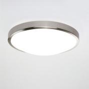 Osaka Bathroom Ceiling Light in Brushed Nickel