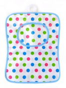 Beamfeature Multi-colour Polka Dot High Quality Plastic Peg Bag with Clothes Line Hanger in