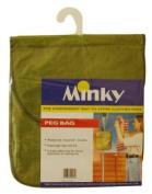 Minky Polypropylene Peg Bag