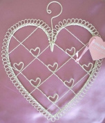 Heart shaped photo or card holder