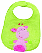 Fehn Jungle Collection Giraffe Bib with Pacifier