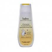 Babo Botanicals Oatmilk Calendula Moisturising Baby Shampoo, 240ml
