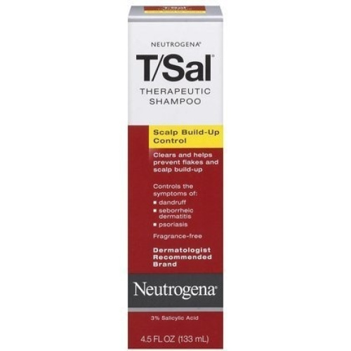 Neutrogena T/Sal Therapeutic Shampoo-4 5oz Pack of 4 | PrestoMall - Shampoos