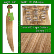 60cm clip in Grade A human hair Extensions by Pro Extensions