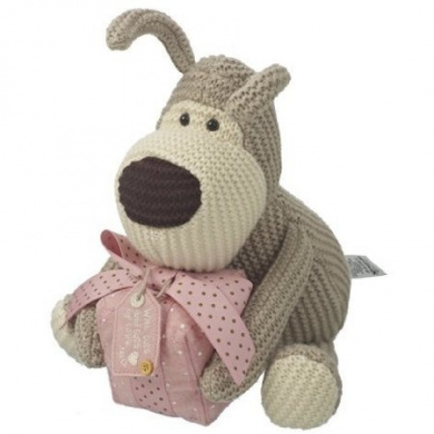 Boofle 20cm Plush Toy - Boofle Holding A Present