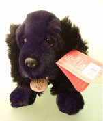 LUPO The Black Cocker Spaniel Dog Soft Plush Toys 35cm By Toyland