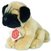 Teddy Hermann 15cm Plush Soft Toy Pug Sitting