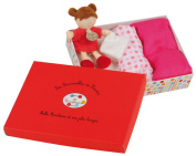 Doudou et Compagnie DC2325 Baby Changing Case with Doll Raspberry Pink