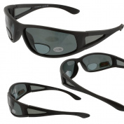 Ragged Grey Polarised Bifocal Sunglasses Magnifier Readers 1.25