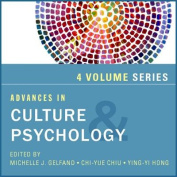 Advances in Culture and Psychology, 4-volume Set