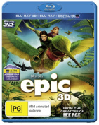 Epic (3D Blu-ray/Blu-ray/UV) [Region B] [Blu-ray]