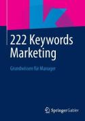 222 Keywords Marketing [GER]
