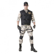 Men's Seal Team Standard Costume - One Size Fits Most