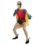 Men's Batman Classic 1966 Series Grand Heritage Robin Costume - One Size Fits Most