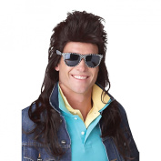 Adult 80's Rock Mullet Wig - One Size Fits Most