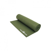 """Natural Fitness Powerhouse Mat - 24""""x72""""x3/8"""", Olive"""