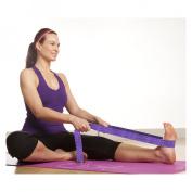 Gaiam Purple Braided Yoga Strap