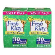 Fresh Kitty Jumbo Litter Box Liners - Double Saver Pack