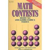 Math Contests (5) (Paperback)