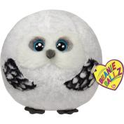 Ty Beanie Ballz Hoots the Snowy Owl Medium