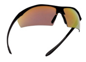 Bolle Sentinel Tactical Sunglasses, Red Mirror Lenses