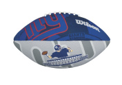 Wilson Sporting Goods Wilson NFL Team Logo Junior Super Grip Rubber Football
