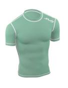 SUB Sports DUAL Mens Compression Top - Short Sleeve All Season Base Layer