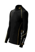 SKINS Men's A200 Thermal Long Sleeve Compression Top with Mock Neck